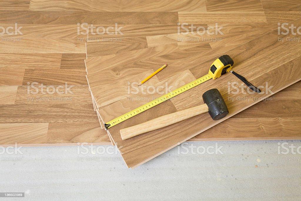 Wood planks stock photo