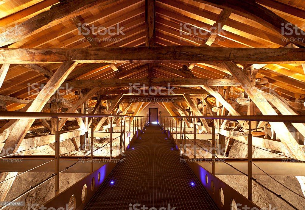 Holz Dach-Balken – Foto