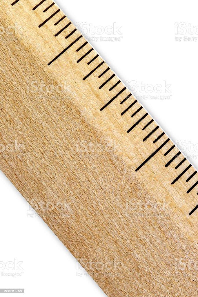 wood rule stock photo