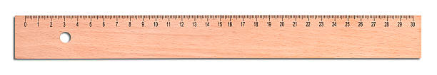 wood ruler - ruler stock photos and pictures