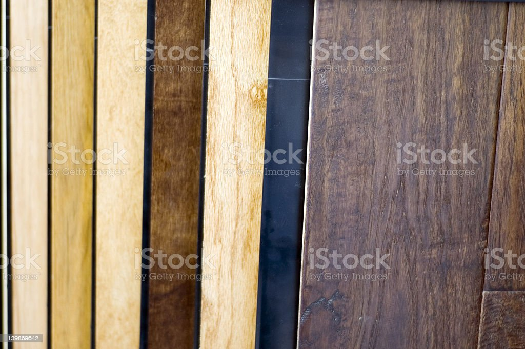 Wood Samples 1 royalty-free stock photo