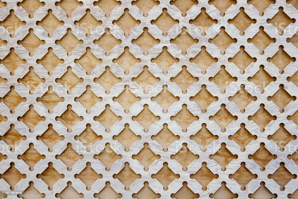 Wood scalloped texture pattern wall background royalty-free stock photo