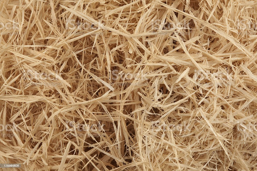 wood shavings royalty-free stock photo