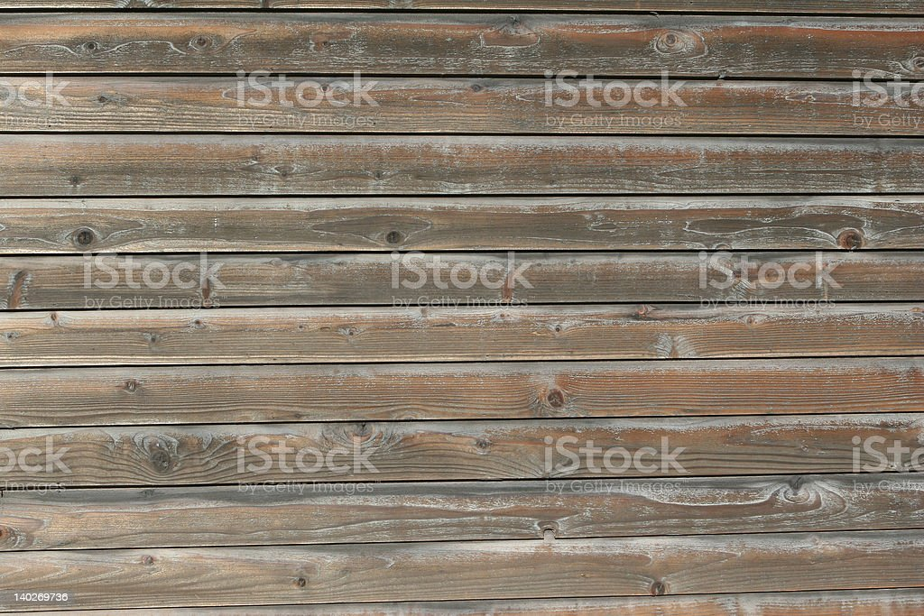 Wood Siding royalty-free stock photo