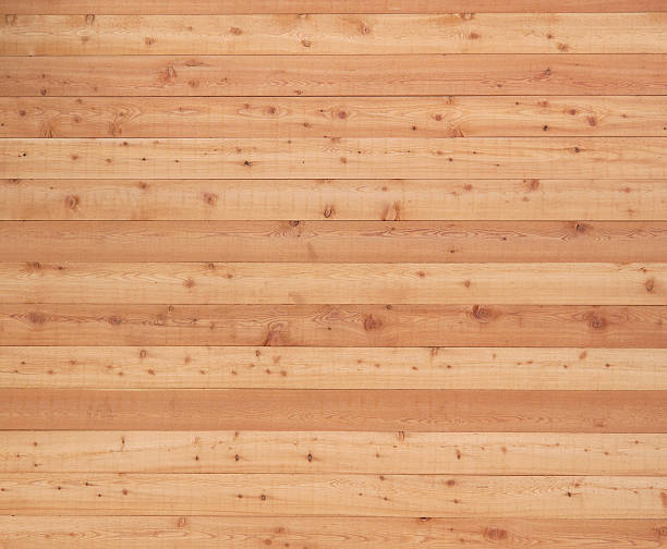wood siding - knotted wood stock pictures, royalty-free photos & images