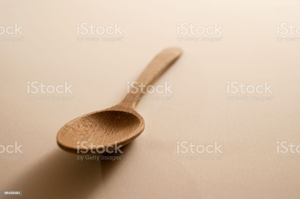 Wood Spoon royalty-free stock photo