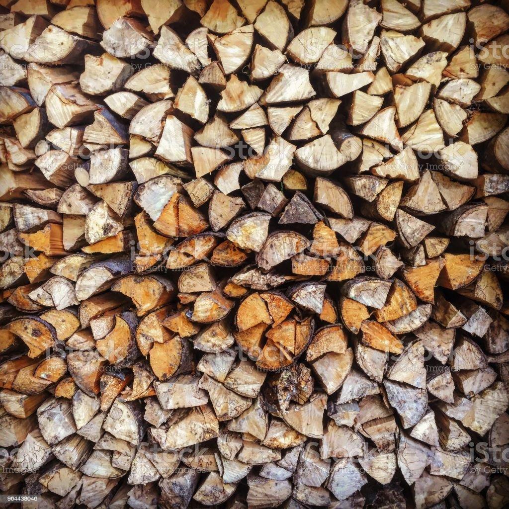 Pilha de madeira - Foto de stock de Amontoamento royalty-free