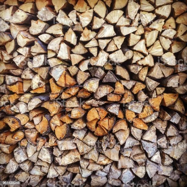 Foto de Pilha De Madeira e mais fotos de stock de Amontoamento