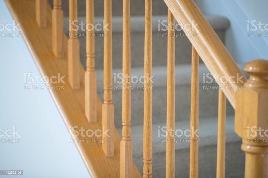 Wood stairs, interior - Image