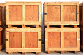 wood storage boxes