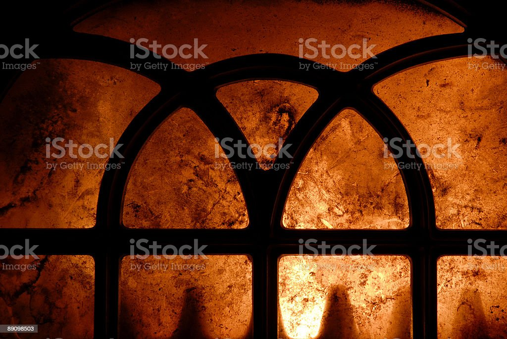 Wood Stove Inferno stock photo