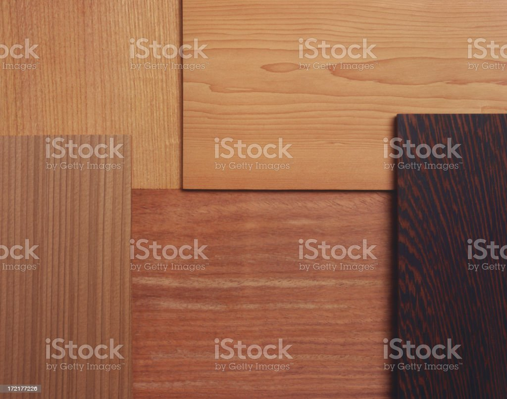 Wood surface selection royalty-free stock photo