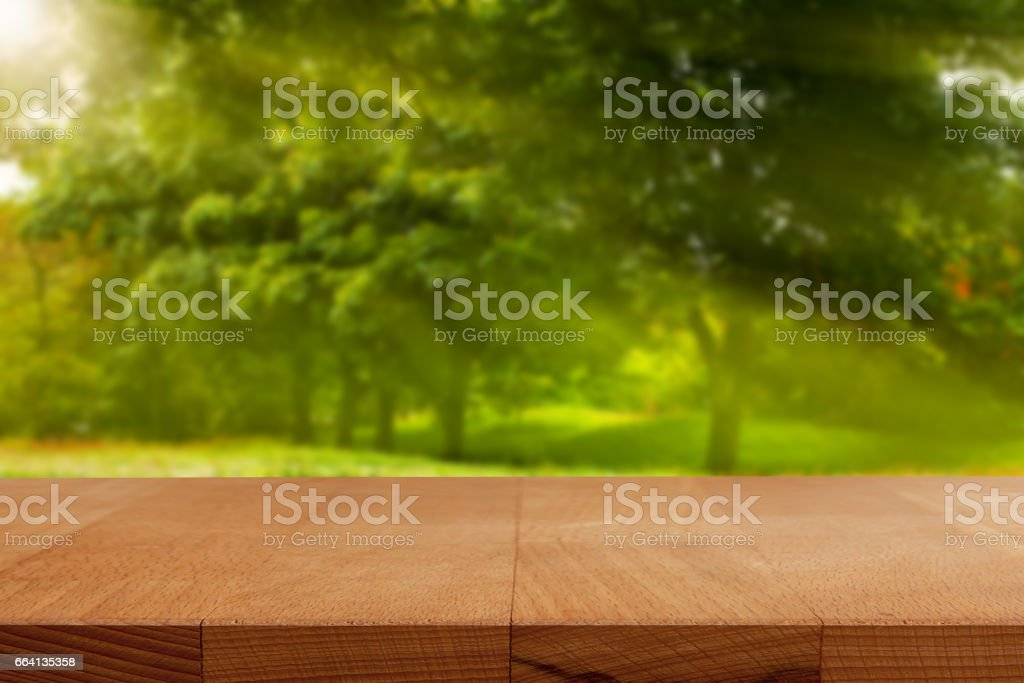 Wood table background. foto stock royalty-free