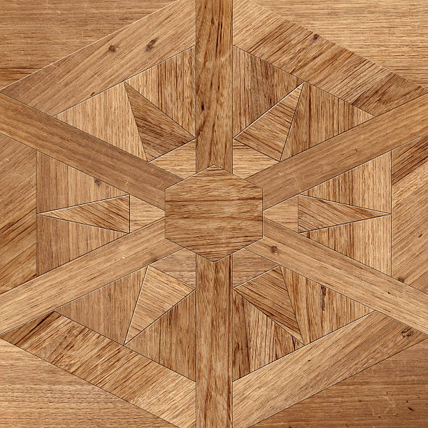 Wood table pattern stock photo