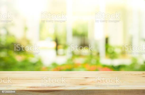 Wood table top on blur abstract green from garden background picture id672555544?b=1&k=6&m=672555544&s=612x612&h=ri3dotbe akvy21vqaazhgw74wvbsf87smm67w3sck0=