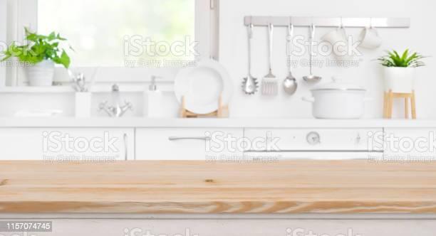 Wood table top on blur kitchen room and window background picture id1157074745?b=1&k=6&m=1157074745&s=612x612&h=5vlv2oi1j2kqff3fzmbp5ioqusaxjajvz78tqpfldzs=