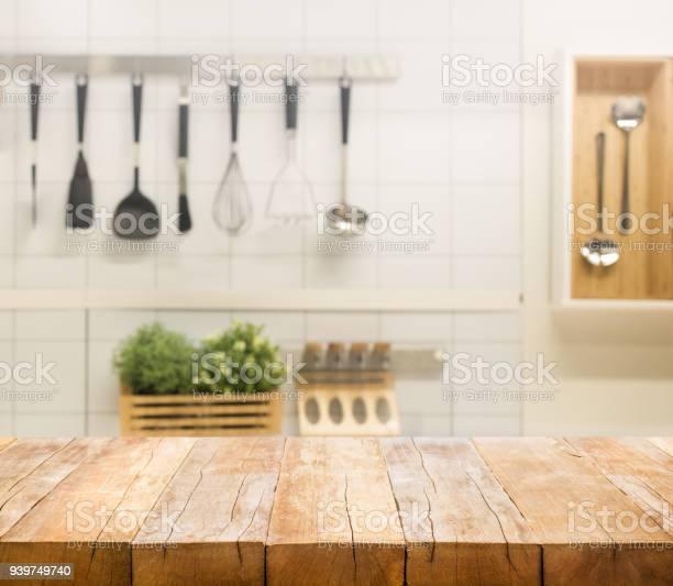 Wood table top on blur kitchen room background picture id939749740?b=1&k=6&m=939749740&s=612x612&h=4wqa9gqujo0rcmqy3wzjqd3t48d3bab0xzptzr otzo=