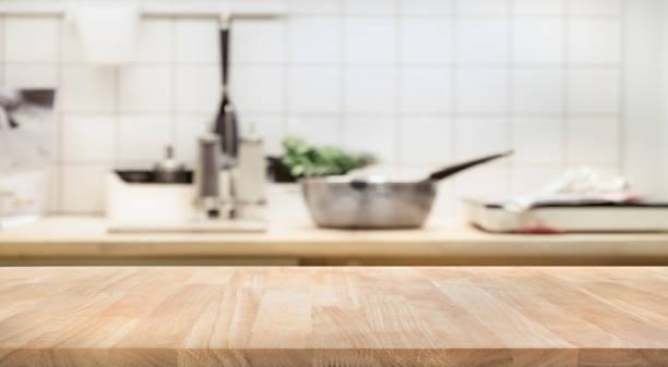 Wood table top on blur kitchen room interior background picture id862422232?b=1&k=6&m=862422232&s=612x612&w=0&h=ntrdiyk7fhakbkdkeeo1bpelnzoao 7tqsnryedhox8=