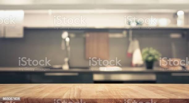 Wood table top on blur kitchen wall room background picture id865067608?b=1&k=6&m=865067608&s=612x612&h=8cvjeofib3bxsh niz9u1pxbmd8et6ot7gtiydj vqg=