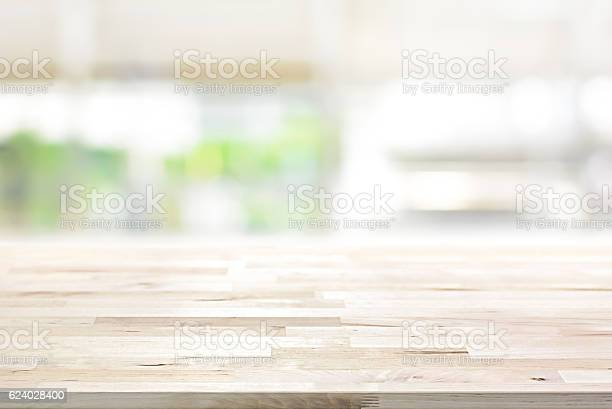 Wood table top on blur kitchen window background picture id624028400?b=1&k=6&m=624028400&s=612x612&h=s61nzi8i2irovoijgfdtcoi2x4z8hccyxcxdcstrcgi=