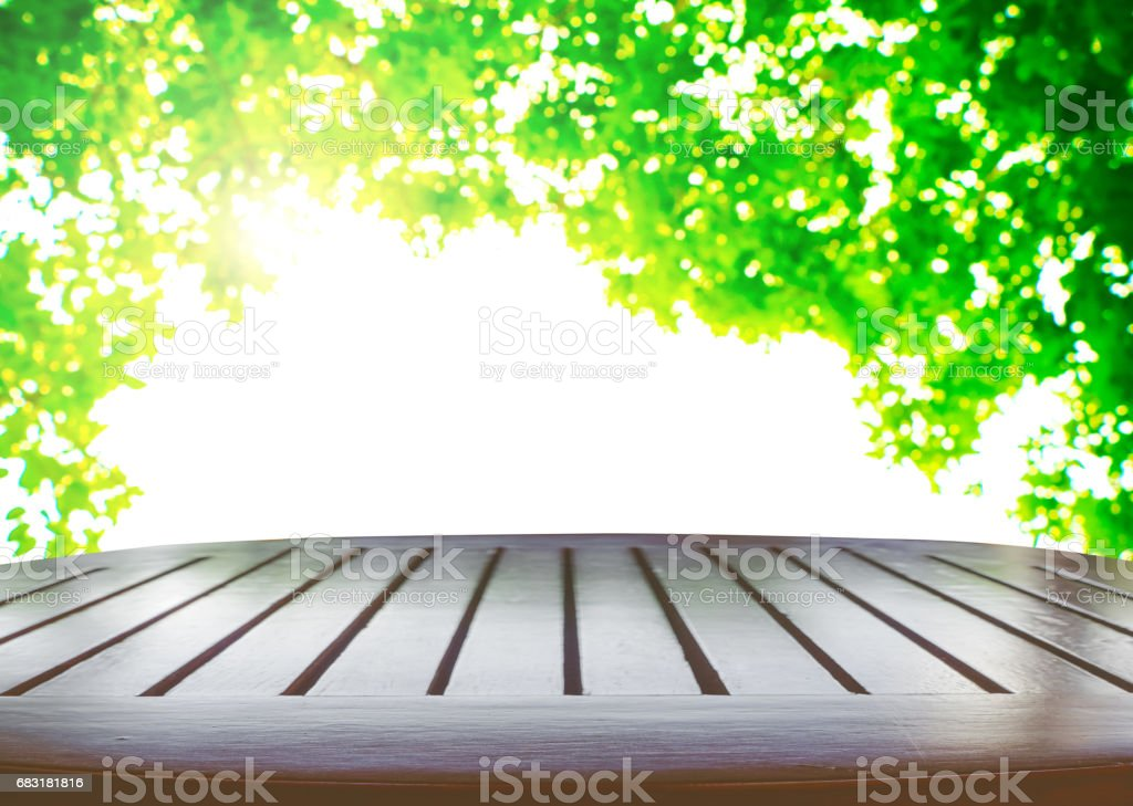 Wood table top 免版稅 stock photo