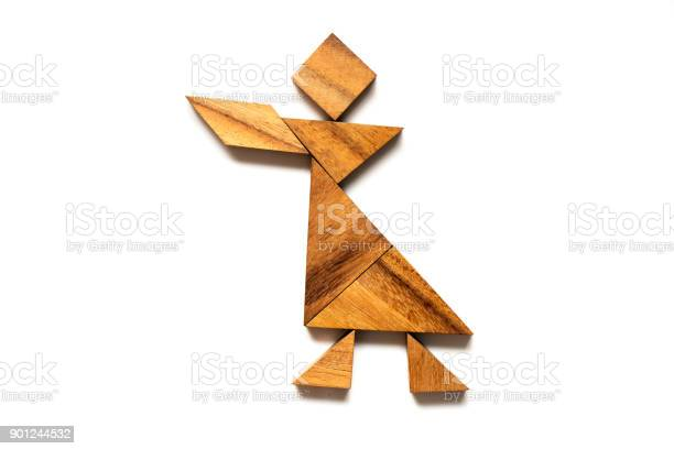 Wood tangram puzzle in singing man shape on white background picture id901244532?b=1&k=6&m=901244532&s=612x612&h=03se2r8h8elyvxfooaseennwa tehkojzeedqvicwa4=