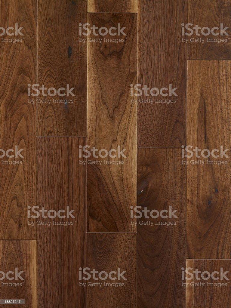 Wood texture American Black  Walnut royalty-free stock photo