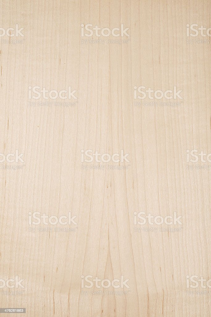 Wood texture - American Hard Maple stock photo