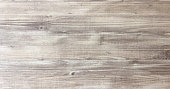 istock wood texture background, light oak of weathered distressed rustic wooden with faded varnish paint showing woodgrain texture. hardwood planks pattern table top view. 953010970