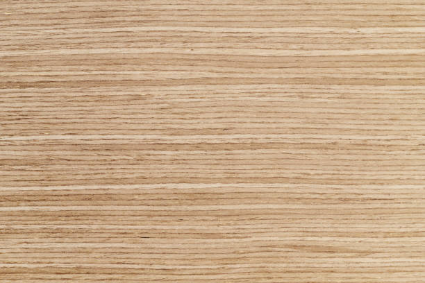 Wood Texture Background Material, Light Color and Horizontal Stripes. stock photo