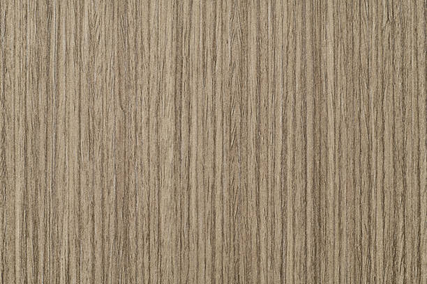 Wood Texture Background Material, Light Color and Vertical Stripes. stock photo