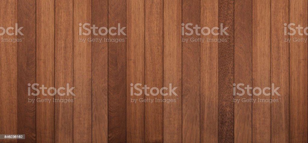 Wood texture background, panoramic wood planks stock photo