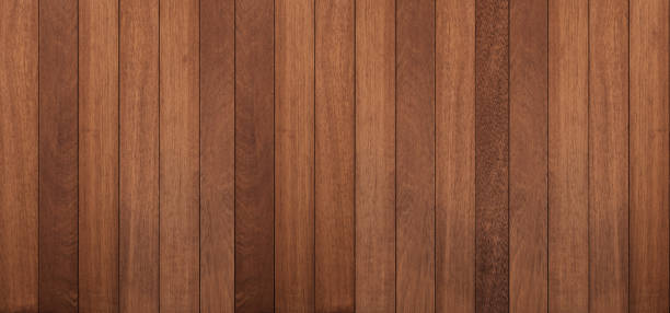 Wood texture background, panoramic wood planks stock photo