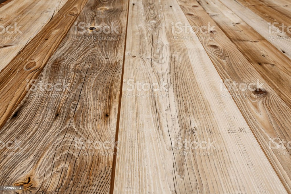 Wood Texture Background Rustic Pine Picnic Table Weathered Wood