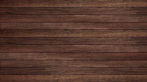 wood texture background, wood planks horizontal - mahagoni braun stock-fotos und bilder