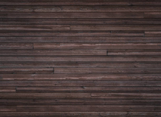 holzstruktur hintergrund, holzplanken - mahagoni braun stock-fotos und bilder
