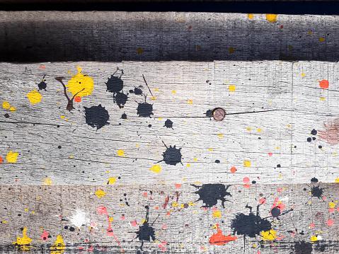 1084390994 istock photo wood texture, paint splash, colorful paint on wood texture, colorful paint splash on white wood texture 1172205709
