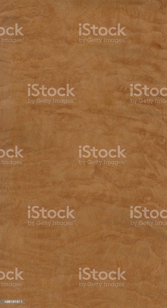 Wood Texture Panel - Bird's Eye stock photo