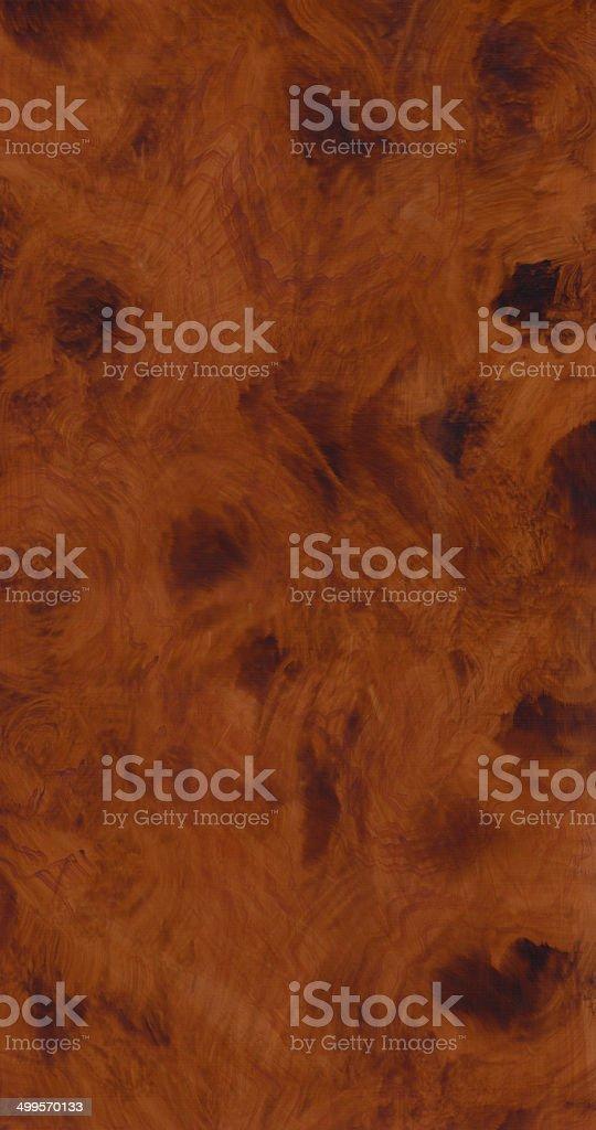 Wood Texture Panel - Burl stock photo