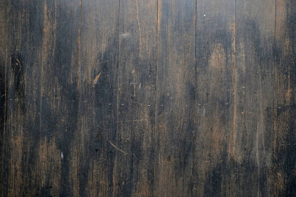 wood texture plank wall texture background, design and decoration - top view, wood table, empty imagens e fotografias de stock