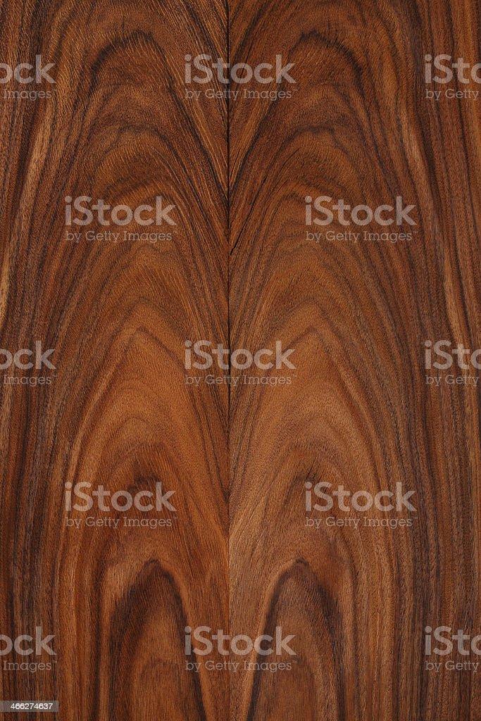 Wood texture - Santos Palisander stock photo