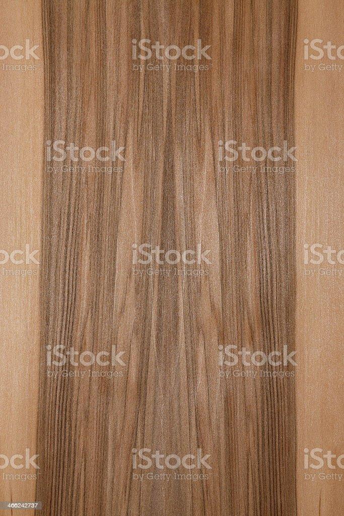 Wood texture - Satin Walnut stock photo