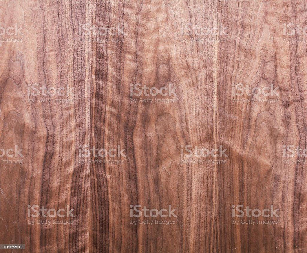 wood texture, walnut veneer stock photo