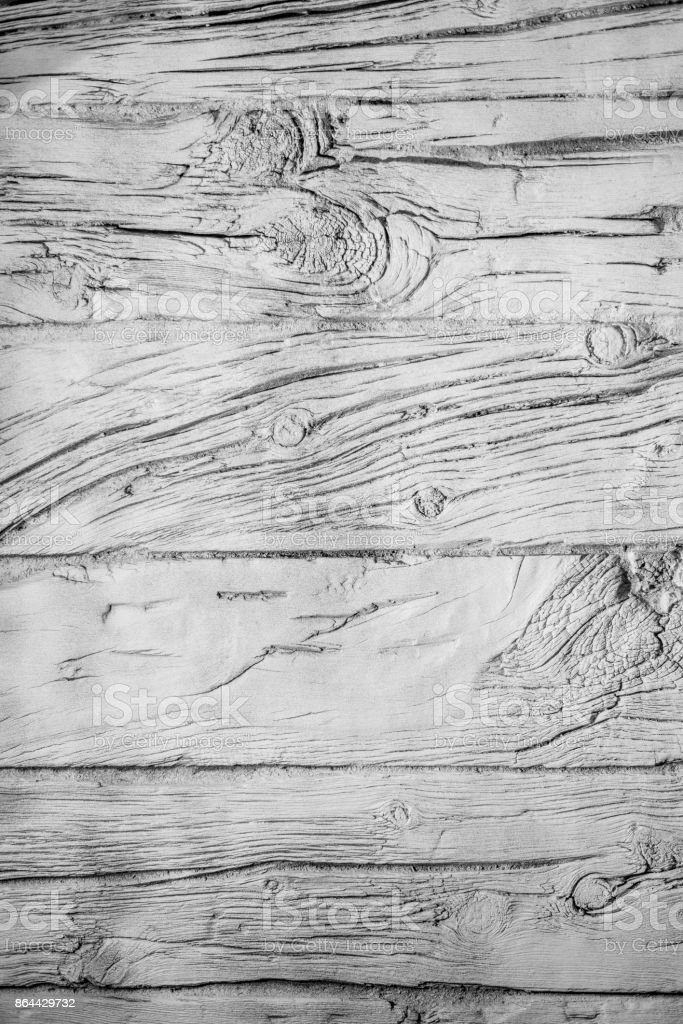 Wood Texture, White Wooden Background, Grey Plank Striped Timber Desk stock photo