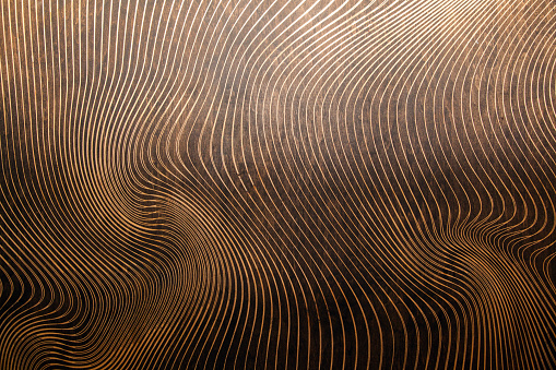 wood texture with lasered pattern
