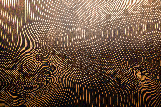 wood texture with lasered pattern wood texture with lasered pattern bamboo material stock pictures, royalty-free photos & images