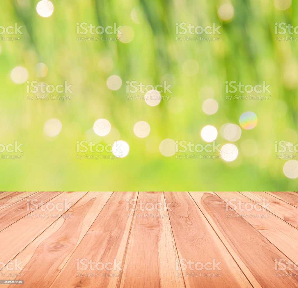 wood textured backgrounds on the green nature backgrounds stock photo