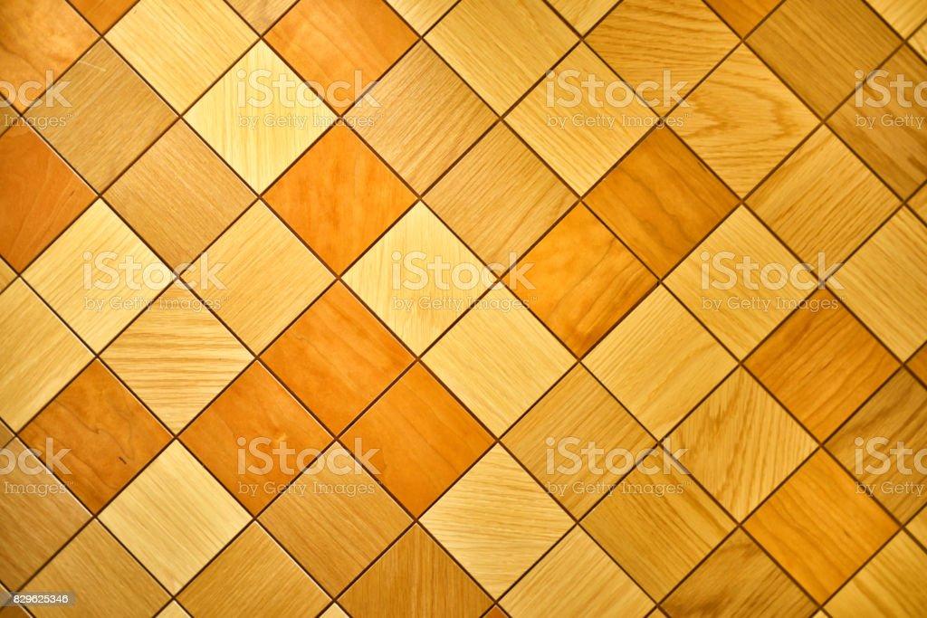 wood tile pattern - stock image stock photo