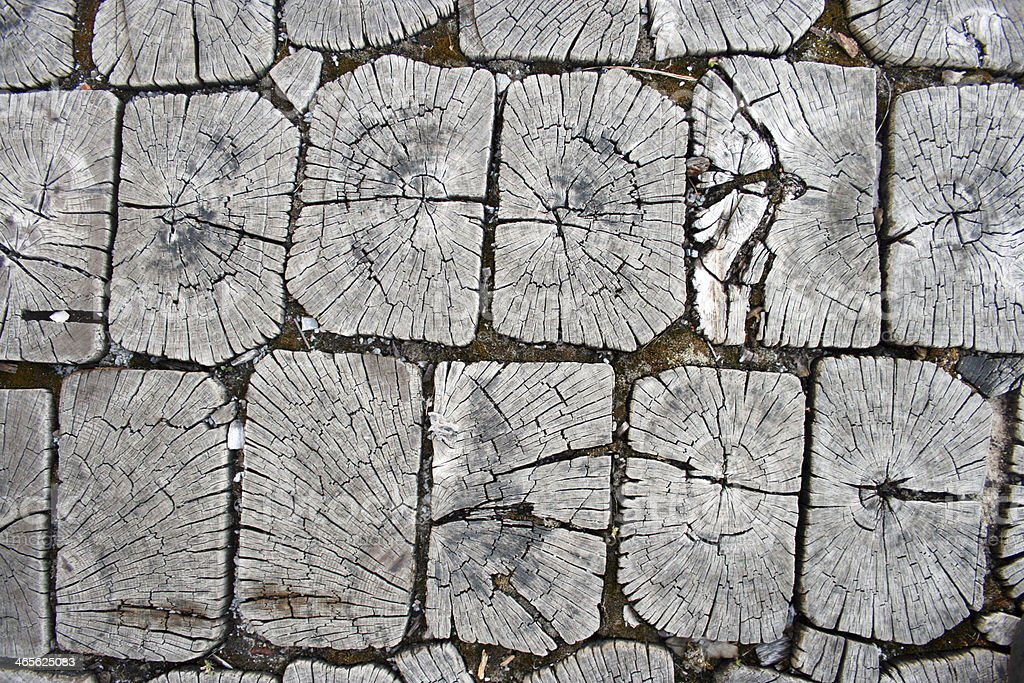 Wood tiles royalty-free stock photo