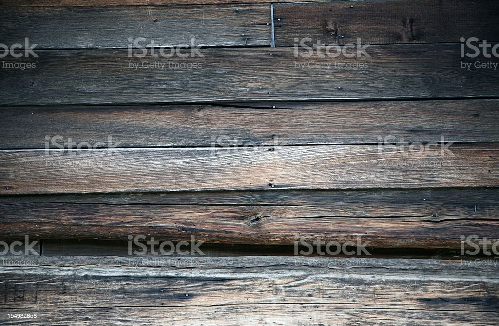 Wood Wall Of 1900's Home royalty-free stock photo
